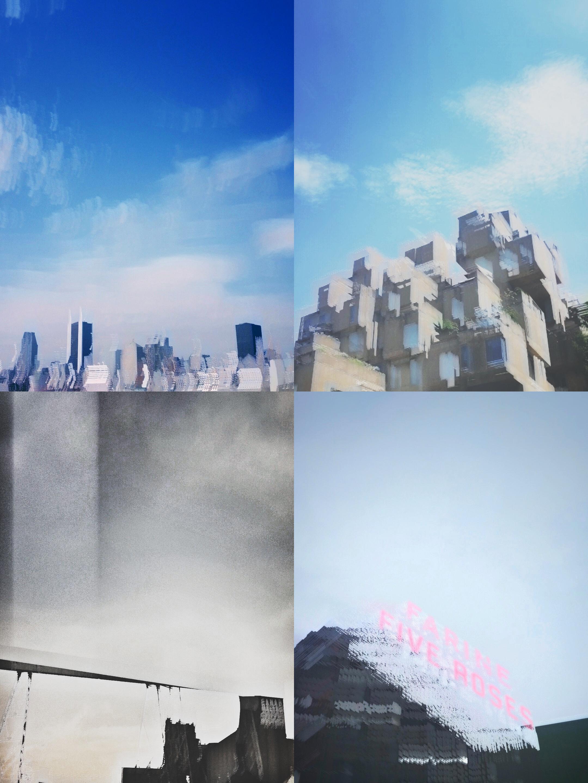 ma série 'ville, ralentie'